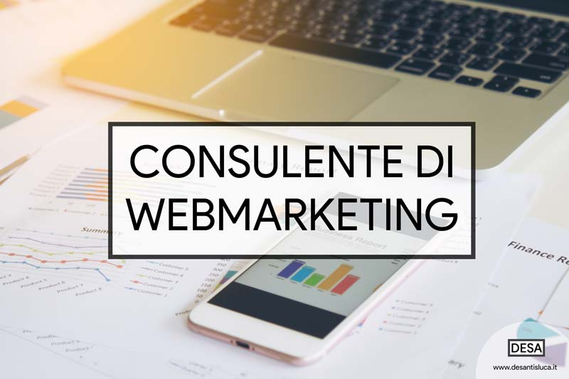 consulente di web marketing