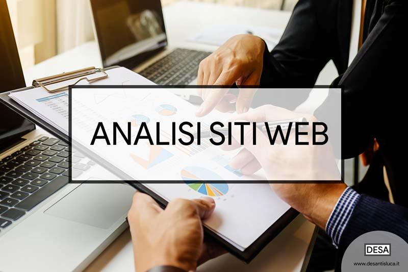 analisi siti web seo audit DESA consulente seo milano