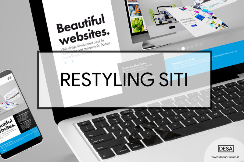 Restyling siti web wordpress
